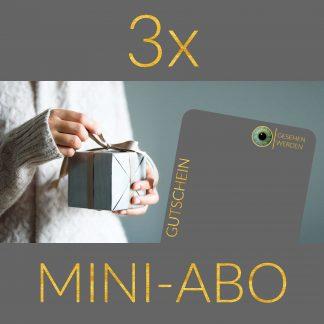 3x Mini-Abo